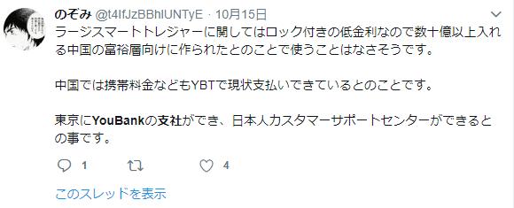 YouBankの東京支社