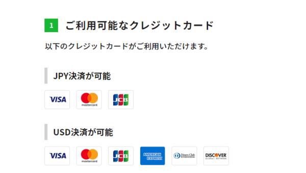 bitterzはクレジットカードで入金可能