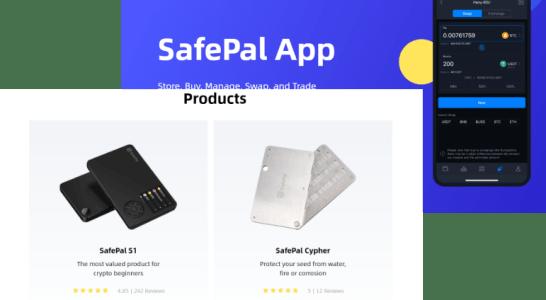 セーフパル(safepal)のウォレット製品